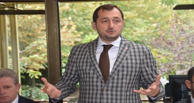 AK Parti İl Başkanı Yüksel'in Çorlu ziyareti