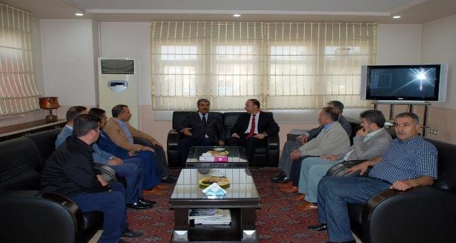 Vali Abdullah Erin, STK'ları ziyaret etti