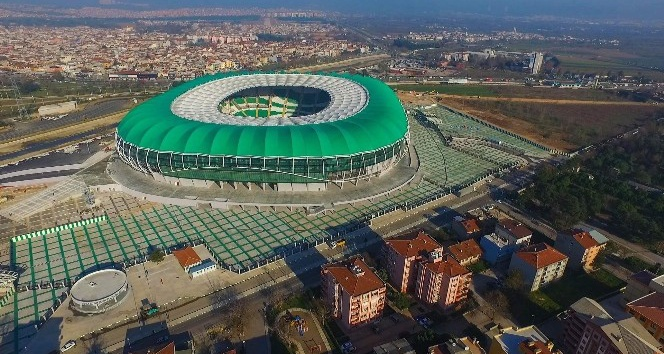 Timsah Arena'ya UEFA heyeti geliyor