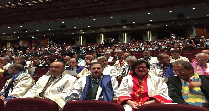 Rektör Özdemir, YÖK açılış törenine katıldı