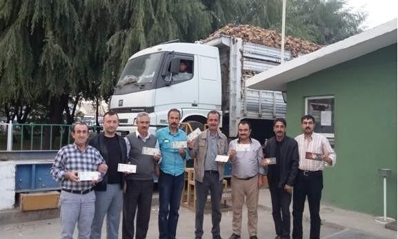 Eskişehirspor'a Şeker Fabrikası işçilerinden de destek