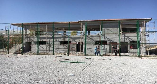 Fındıklı Yeşiltepe 1 Nolu Sahanın yapım çalışmalarını İnceledi