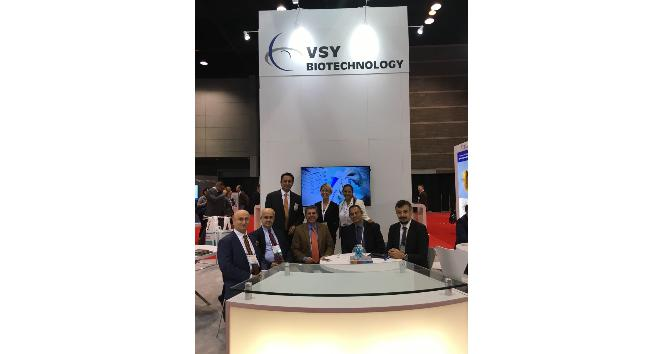 VSY Biotechnology Amerika'da teknolojilerini sergiledi