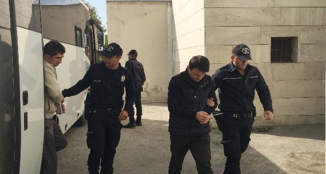 Sakarya'da dernek üyeleri 9 kişi adliyeye sevk edildi