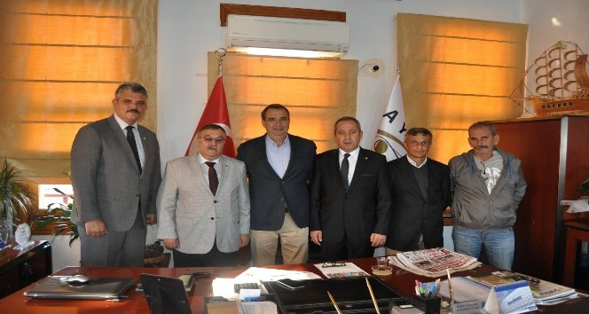 Başkan Gençer, Türk Yerel Hizmet Sendikası'nı ağırladı