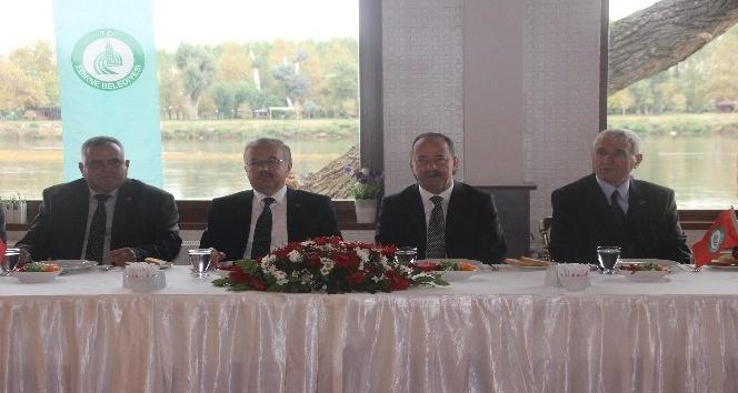 """Edirne'de """"19 Ekim Muhtarlar Günü"""" kutlamaları"""