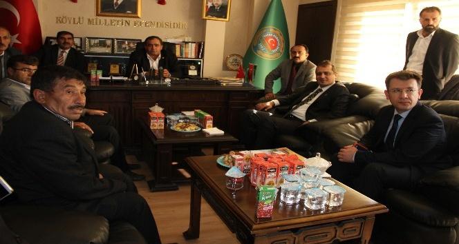 Aksaray'da muhtarlar Ziraat Odası'nda bir araya geldi