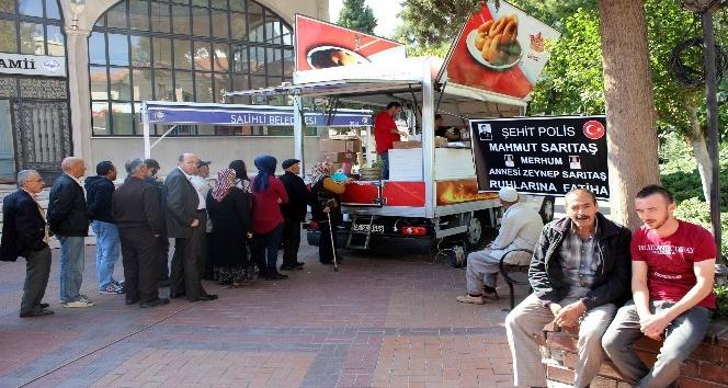 Şehit Polis Sarıtaş, lokma hayrı ile anıldı