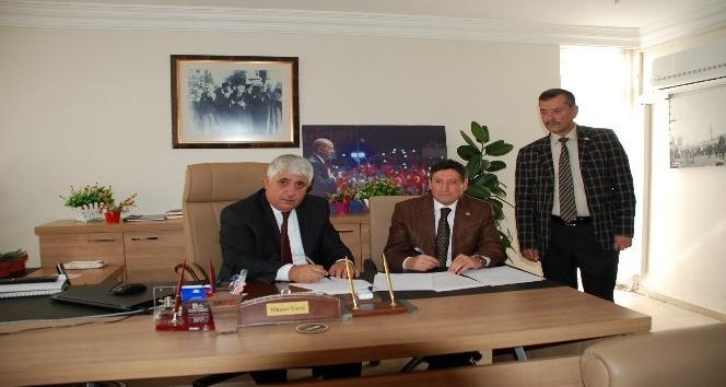 Sorgun Belediyesinde sosyal denge tazminatı sözleşmesi imzalandı
