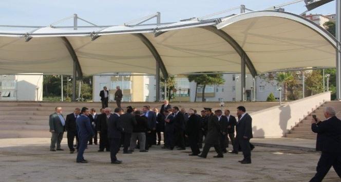 Başkan Nuri Tekin; köy muhtarlarıyla incelemede bulundu