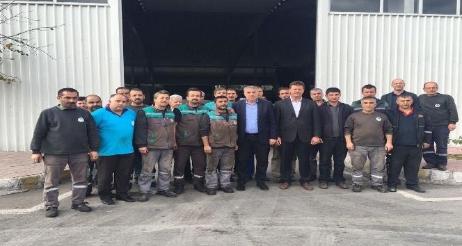 Başkan Toçoğlu işçilerle buluştu