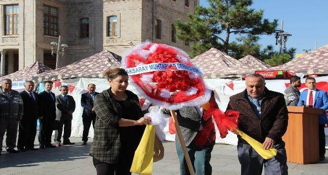 Aksaray'da Muhtarlar Günü kutlaması