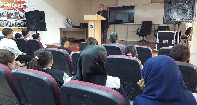 Adıyaman Anadolu Lisesi Aliya İzzetbegoviç'i andı