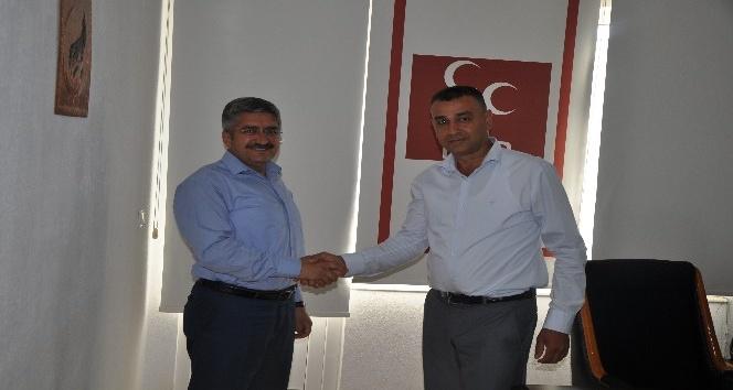 Kumluca AK Parti'den MHP'ye ziyaret
