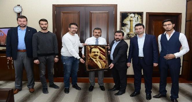 Muhsin-i Tavır'dan Başkan Külcü'ye Ziyaret