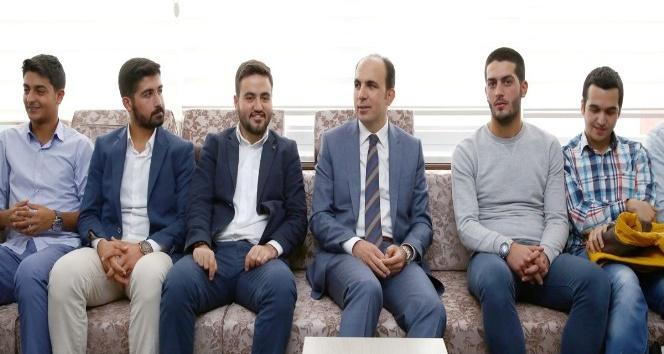 Başkan Altay, halk günü ziyaretlerine devam etti
