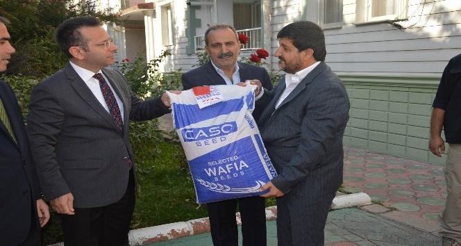 Diyarbakır'da 'sertifikalı tohum dağıtım töreni' yapıldı