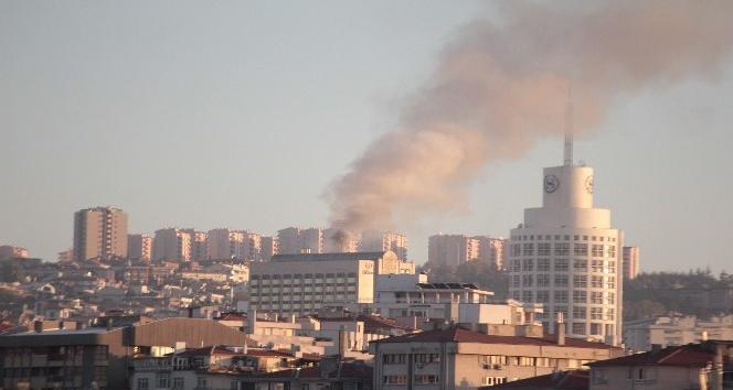 Ankara Hilton Otel'de yangın