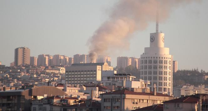 Ankara Hilton Otelden dumanlar yükseliyor