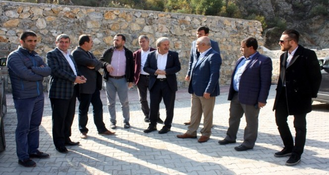 Bilecik TSO Başkanı Mefail Ateş'ten Osmaneli'ne ziyaret