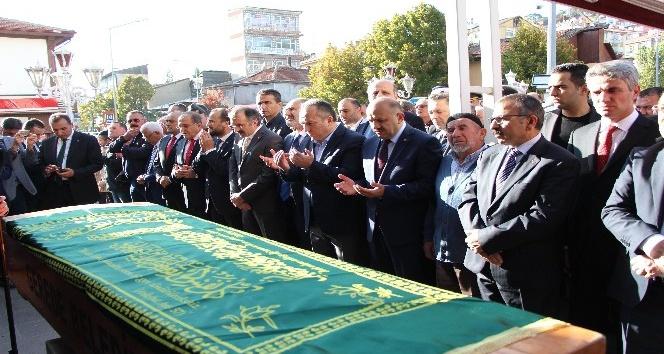 Bakan Işık, Bakanlık Müsteşarı Fidan'ın babasının cenazesine katıldı