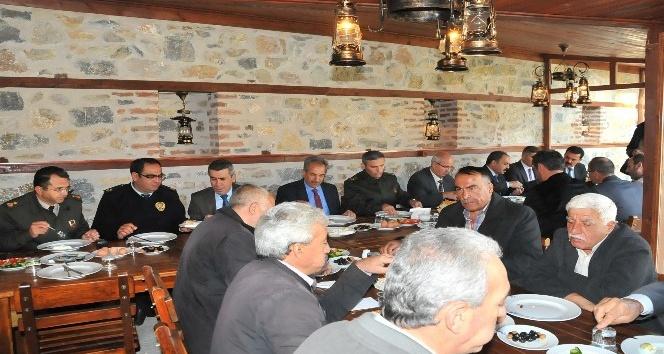 Akşehir'de Muhtarlar Günü kutlaması