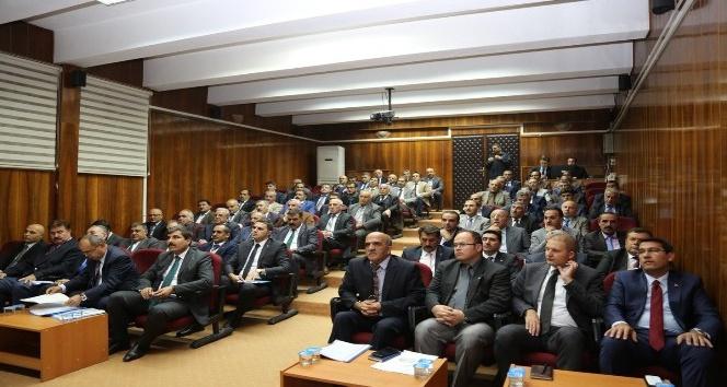 Muş il koordinasyon kurulu toplantısı yapıldı
