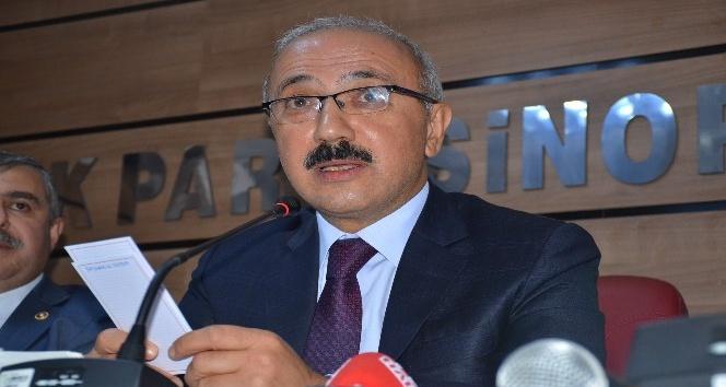 """Kalkınma Bakanı Elvan: """"Devletimizi ve milletimizi bu beladan kurtaracağız"""""""