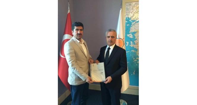 Nazilli'de 2. kez AK Parti İlçe Başkanı atandı