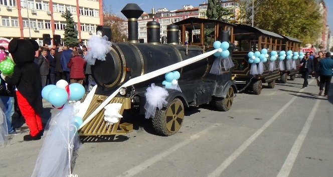 Kütahya'da 'Nostaljik tren' ile yolculuk