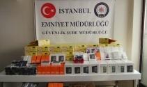 İstanbulda ele geçirildi: Piyasa değeri 350 bin lira