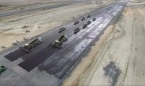 3. Havalimanının ilk asfalt çalışmaları havadan görüntülendi