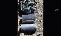 Hakkari Şemdinlide terör örgütünün mühimmat ve yaşam malzemesi ele geçirildi
