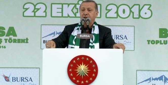 Erdoğan: 'Bu devletin sınırlarını gönüllü olarak kabul etmiş değiliz'