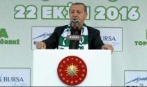 Erdoğan: Bu devletin sınırlarını gönüllü olarak kabul etmiş değiliz