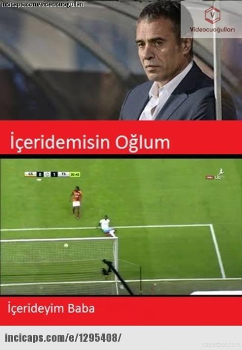 Trabzonspor Galatasaray'ı yendi capsler patladı!