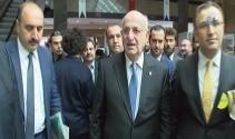 İstanbul Barosu seçimlerinde İsmail Kahraman'a protesto