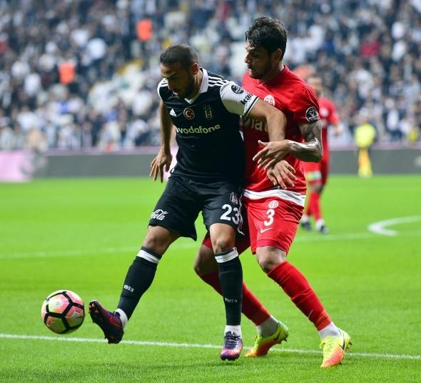 Beşiktaş Antalyaspor maçından kareler