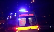 Erzurumda öğrenci evinde çıkan yangında 6 kız öğrenci dumandan zehirlendi