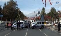 İstanbul Emniyet Müdürlüğü önünde şüpheli araç paniği