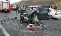 Bitliste trafik kazası: 2 ölü, 5 yaralı