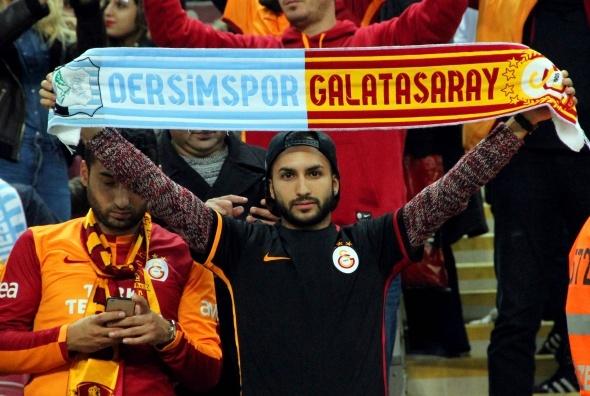 Galatasaray Dersimspor maçından kareler