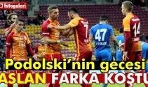 Galatasaray Dersimspor maçın foto özeti