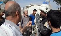 Rejim uçakları Halepi vurdu: 6 ölü