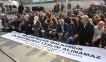 HDP İstanbul İl Örgütü'nden Gülten Kışanak protestosu
