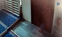 Bilecik'te camiyi soymaya kalkan şahıs kamerada