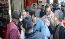 Diyarbakırda HDPliler esnafa saldırdı