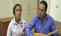 14 yaşındaki görme engelli Neslihan, Acuna mesaj gönderdi