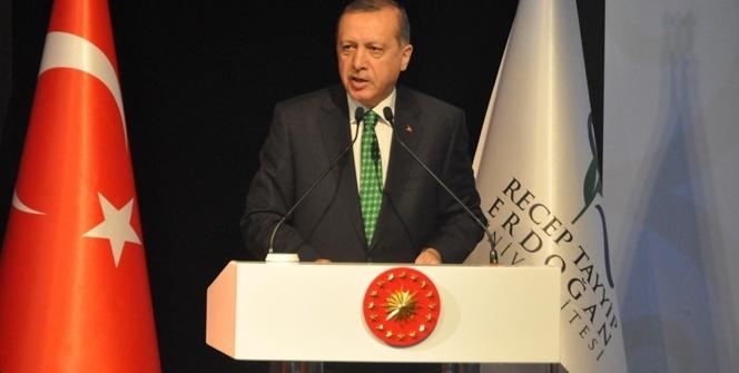 Erdoğan: Ülkemize, milletimize ve şahsıma kurulan bazı tuzakları geç gördük