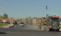 Şanlıurfadan sınıra askeri sevkıyat